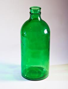 Large bottle of bank of the INCREASED DURABILITY