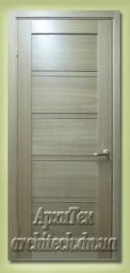 Двери межкомнатные шпонированные