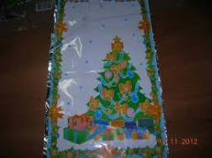 Packings are gift, packages for gifts, transparent, multi-colored gift packages Lviv