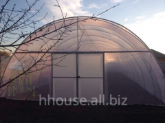 The greenhouse a hotbed for giving 140 sq.m