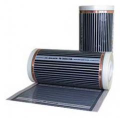Infrared film heat-insulated floors of CALEO: