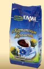 Coffee drink with a Carpathian ginseng