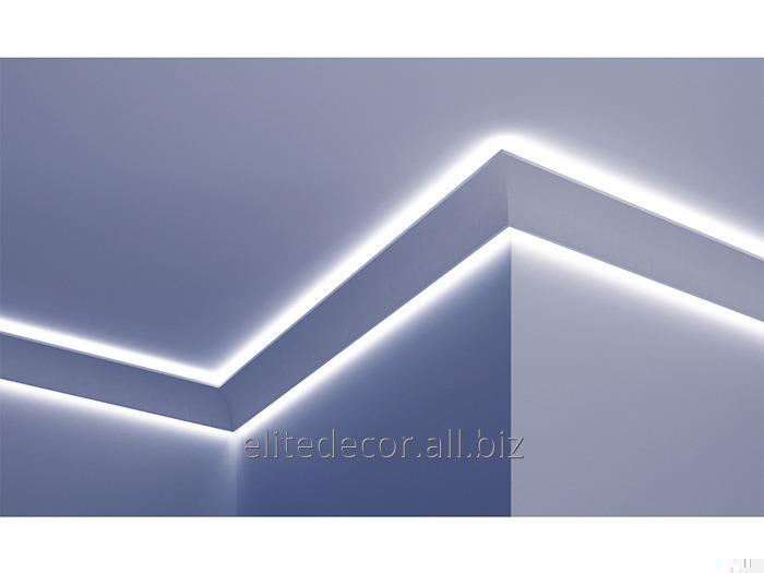 KF703 Cornice for concealed LED lighting  Material: Polyurethane (PU), a  collection of: Tesori F-Series