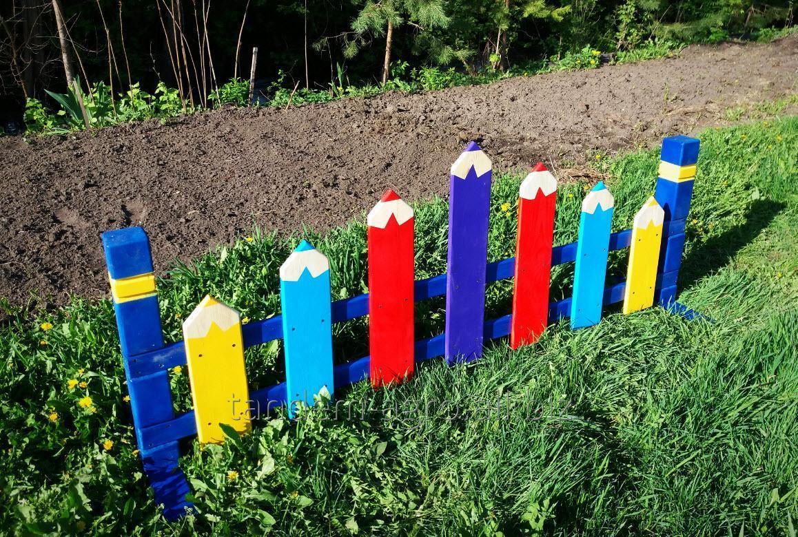 Забор детской площадки своими руками 98