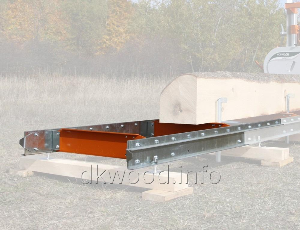 Lumberman Mn26 Manual Portable Sawmill