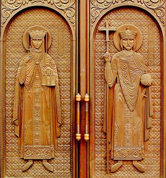 купить металлические церковные двери