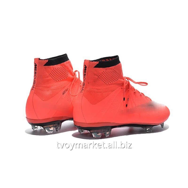 Футбольные бутсы Nike Mercurial Superfly 2016 Mango Оригинальные ... bf2c6064e1dec