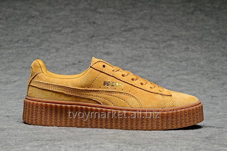 0f3e2d206f80 Женские кроссовки Rihanna x PUMA Creeper (Wheat) оригинал купить в Киеве