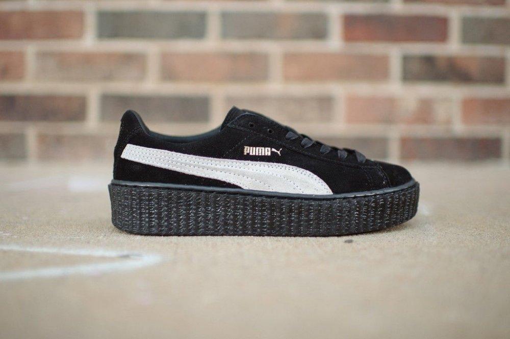 Женские кроссовки Puma Rihanna all black оригинал e89c164b85a