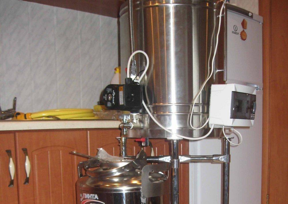 Купить в украине домашнюю пивоварню в самогонный аппарат литровка