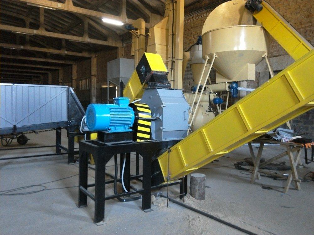 Молотковая дробилка для торфа завод дробильного оборудования в Осинники