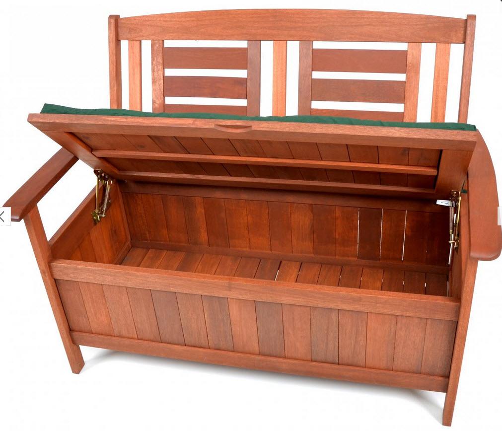 Скамейки с местом для хранения своими руками