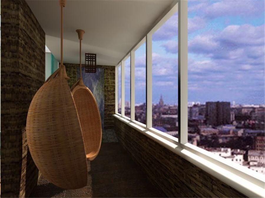 Оформление балкона в квартире фото.