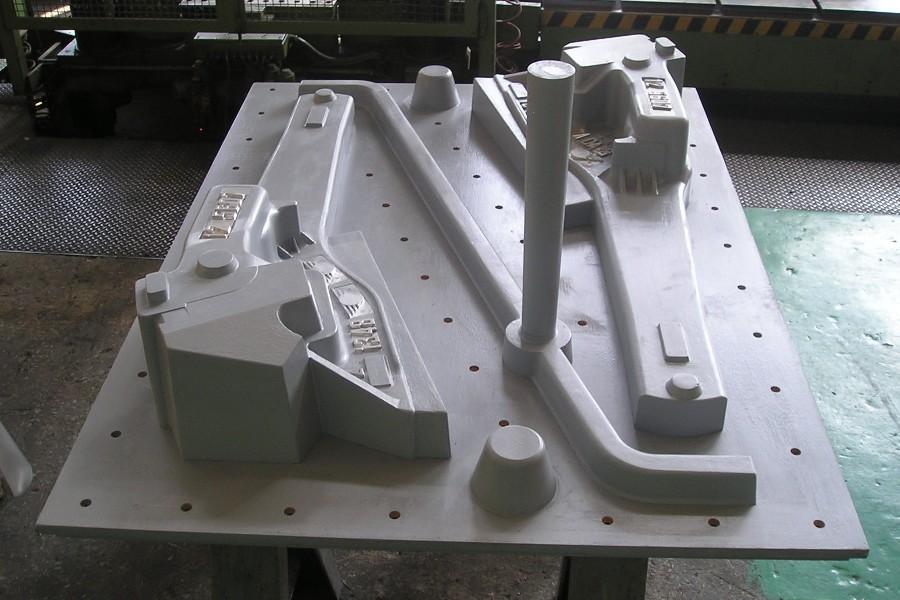 изготовление оснастки из модельной плиты