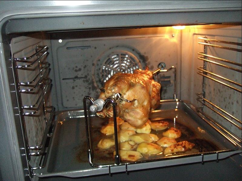 гриль в газовой духовке своими руками