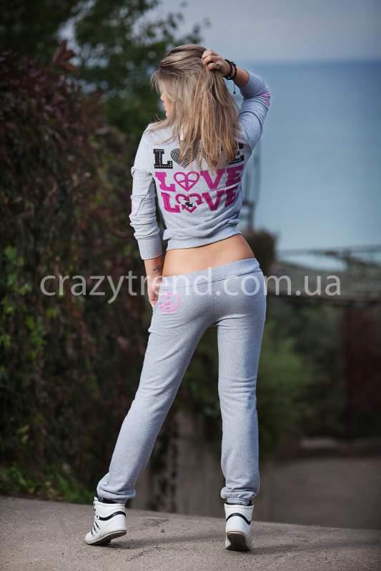 Женский спортивный костюм с цветами с доставкой