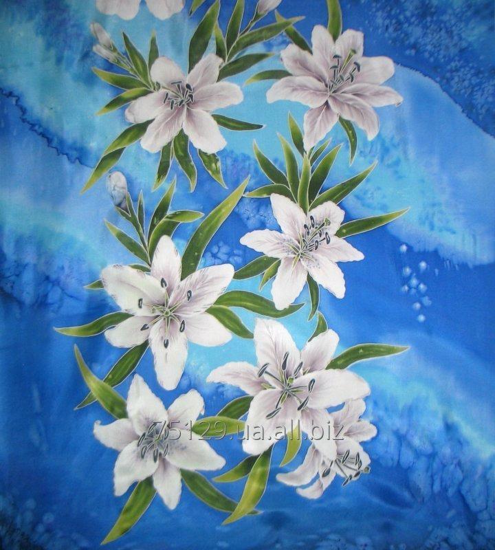 palantin_batik_naturalnyj_shelk_belye_lilii