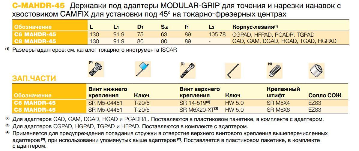 derzhavki_c_mahdr_45_pod_adaptery_modular_grip_dlya_tocheniya_i_narezki_kanavok_shvostovikom_camfix_dlya_ustanovki_pod_45o_na_tokarno_frezernyh_czentrah
