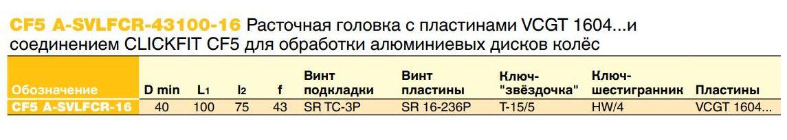 rastochnaya_golovka_cf5_a_svlfcr_43100_16_s_plastinami_vcgt_1604i_soedineniem_clickfit_cf5_dlya_obrabotki_alyuminievyh_diskov_kolyos