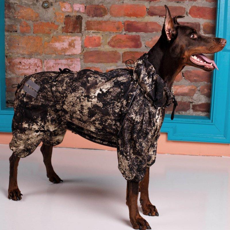 2ee655730ae6 Комбинезон для собак больших и средних пород Extrim Z +флис. Непромокаемый,  теплый · kombinezon dlya sobak bolshih i srednih porod