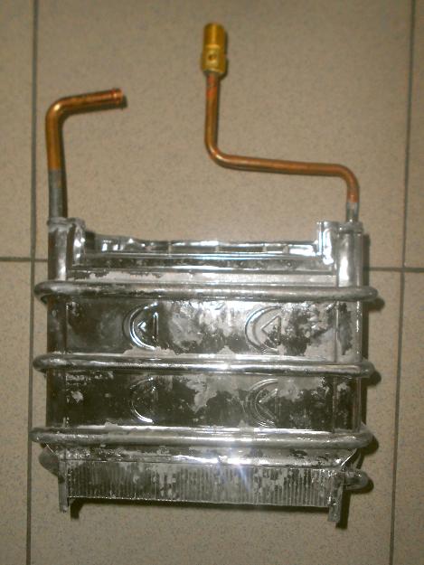 В газовых колонках амина из чего сделан теплообменник теплообменник vs 120 wcl 2