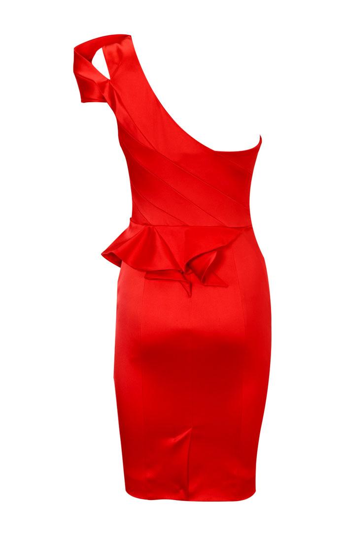 платье красное рыбка фото
