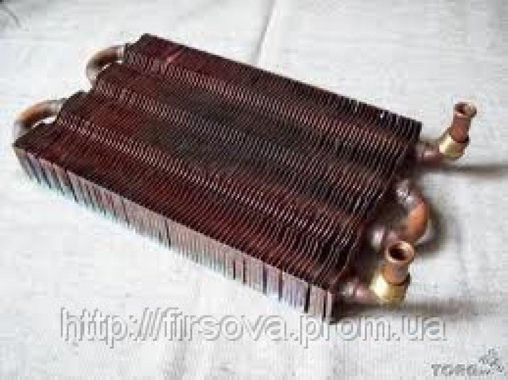 Медный теплообменник нa колонку невa радиаторы теплообменники отопления