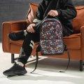 Городской рюкзак с принтом Череп с розами