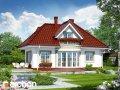 Проект среднего дома (150-200 м2) Дом в бересклете