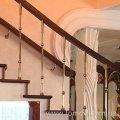 Лестница деревянная. Модель Ар Деко.