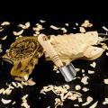Полукруглый коротыш со скошенной кромкой для резьбы по дереву STRYI, 30 мм, арт.391930