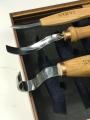 Комплект стамесок для вырезания ложек, чаш и других изделий c дерева  арт.503002