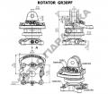 Гидравлический ротатор Baltrotors GR 30PF