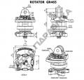 Гидравлический ротатор Baltrotors GR 465