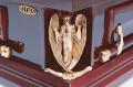 Гроб элитный КАНАДА с ангелами