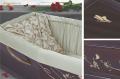 Гроб элитный МЕНИНА сусальное золото