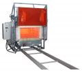 Электропечь СДО с выкотным подом, предназначена для термообработки, отжига, закалки  металлов, керамики и пр.