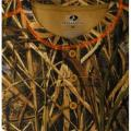Футболка охотничья на пуговицах Mossy Oak Men's Long Sleeve Thermal Henley