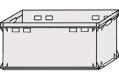 Postfach direkt 600 x 400 x 300 (E3) solide