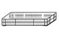 Ящик 600х400х70 перфорированный