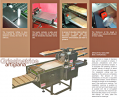 Prim Italia Automatic Grissini Machine with the Laying of Chopsticks on a Baking Sheet 80 kg/h