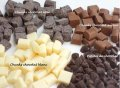 Термостабильный белый шоколад в кусочках / Chocolate Chunks White