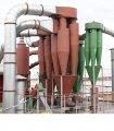 Cykloder för att fördela damm-gasblandningar