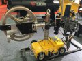 The welding HMZ-1000 tractor with the built-in feeder for welding under SAW gumboil layer