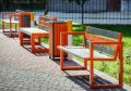 Лавка садово-парковая со спинкой URBAN 7