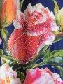 Туника с принтом розы, арт. N3881