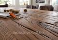 Мебель деревянная в стиле лофт из дубового массива