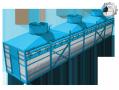 Градирня вентиляторная трехсекционная «Тополь 3000»