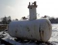 Надземная емкость 4,2 м3, газгольдер, пропан-бутан, сжиженный газ, резервуар