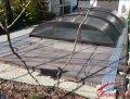 Раздвижной павильон. Модель Abris для бассейна 6,4 х 3,3 м